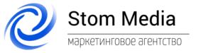 Stom Media logo, Стом Медиа логотип