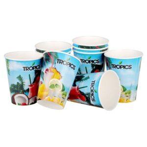 Бумажная посуда с логотипом | рекламное агентство Stom Media